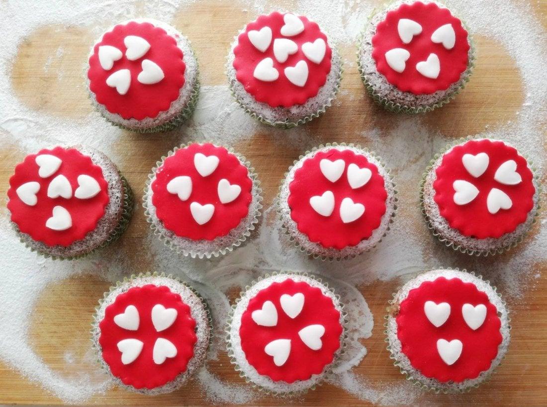 valnetines`s cupcakes