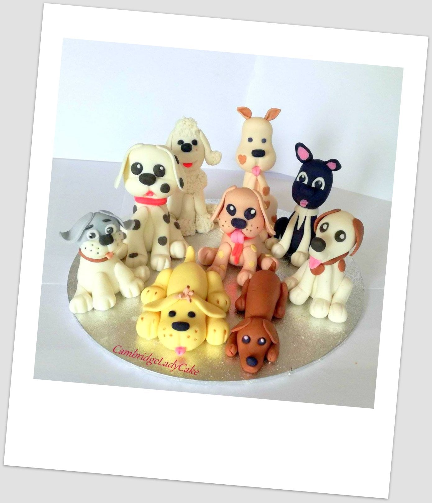 puppy cupcake toppers