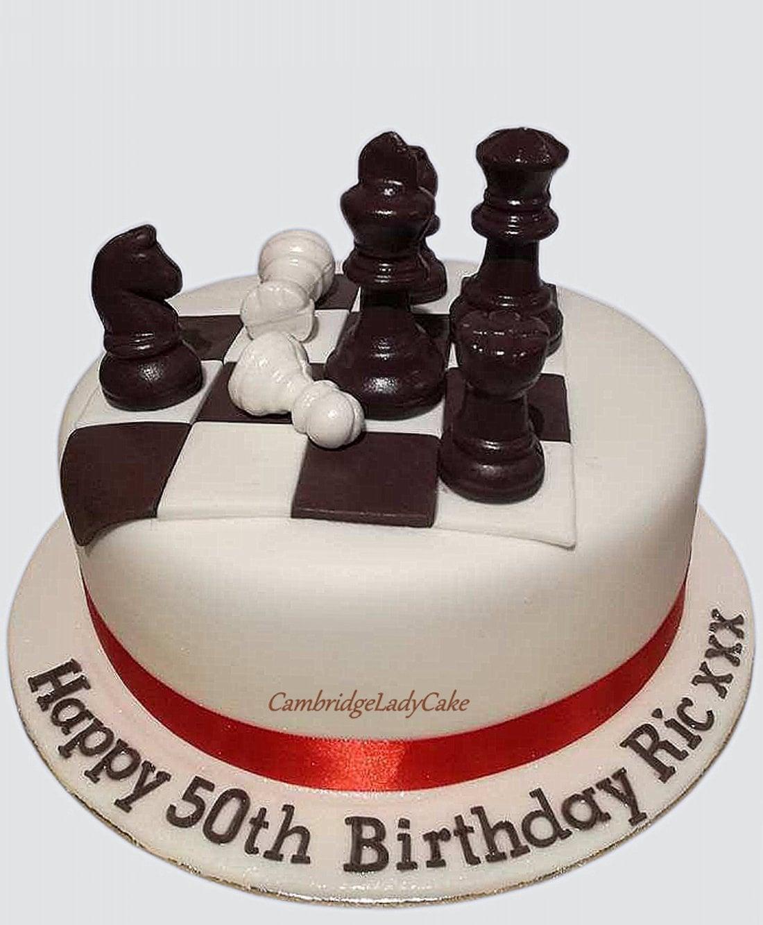 Birthday Cambridge Lady Cake