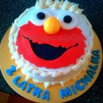 Tort z Elmo.