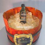 Tort - Kosz z alkoholem