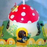 Tort 3D - Ślimaczek Tulli.
