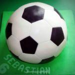 Tort 3D - Piłka nożna