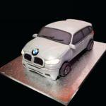 3D Tort BMW samochód