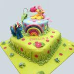 dwu- pietrowy tort Pony