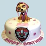 Tort - Psi Patrol z figurką Skye.