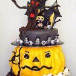 Tort 3-piętrowy Helloween
