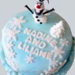 Tort Frozen z figurką Olafa