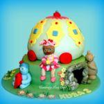 Tort - Dobranocny ogród