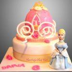 Tort - Kareta Kopciuszka z figurką