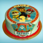 Tort - Psi Patrol z jadalnym obrazkiem