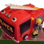 3D Tort - Strazak Sam