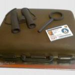 Tort - walizka agenta i akcesoria